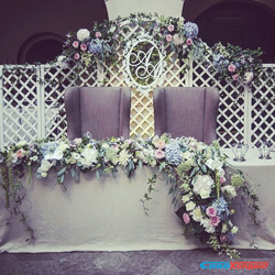 резные решетки на свадьбу и праздники