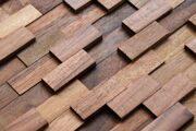 3D Стеновые панели из натурального дерева